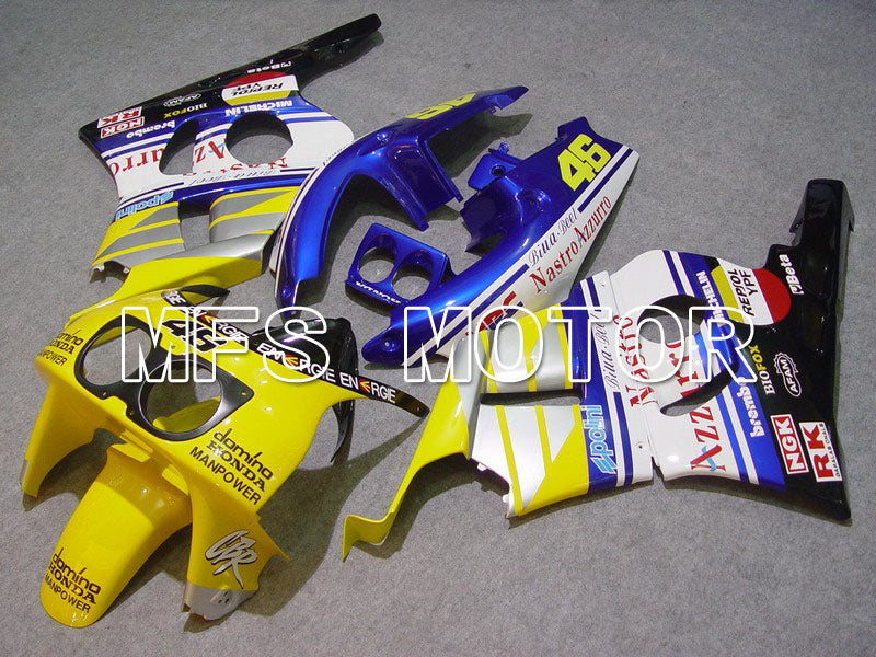 ABS Fairing For Honda CBR 400RR NC29 1990-1999 - Nastro Azzurro - Blue Yellow White - MFS4635 - shopping and wholesale
