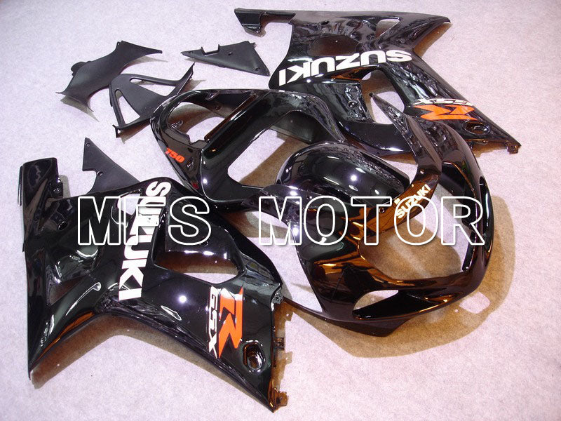 Injection ABS Fairing For Suzuki GSXR600 2001-2003 - Fabriksstil - Sort - MFS4636 - Shopping og engros