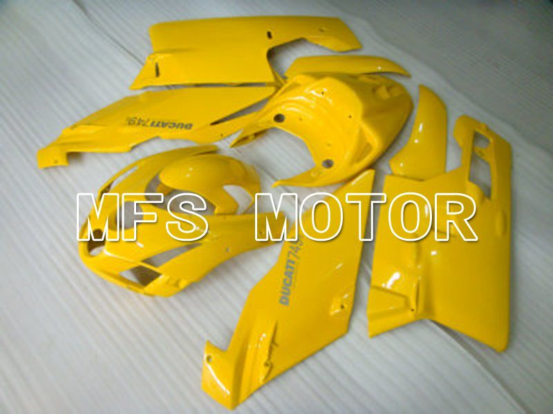 Injection ABS Fairing For Ducati 749 / 999 2003-2004 - Fabrikkstil - Gul - MFS4639 - Shopping og engros