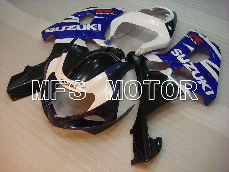 Injection ABS Fairing For Suzuki GSXR600 2001-2003 - Fabriksstil - Sort Wihte Blue - MFS4640 - Shopping og engros