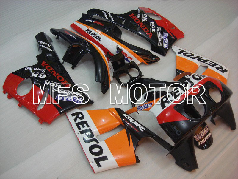 ABS Fairing For Honda CBR 400RR NC29 1990-1999 - Repsol - Red Black Orange - MFS4643 - shopping and wholesale