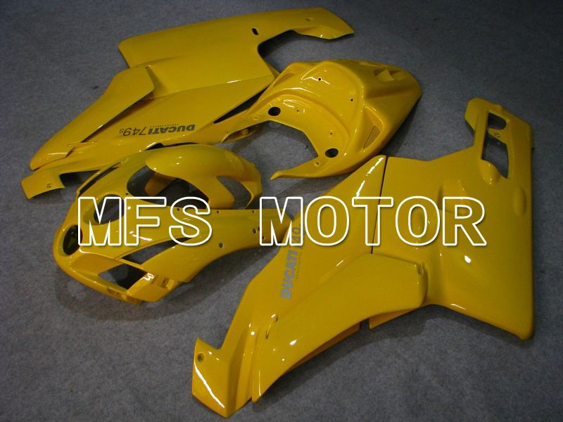 Injection ABS Fairing For Ducati 749 / 999 2005-2006 - Fabrikkstil - Gul - MFS4685 - Shopping og engros