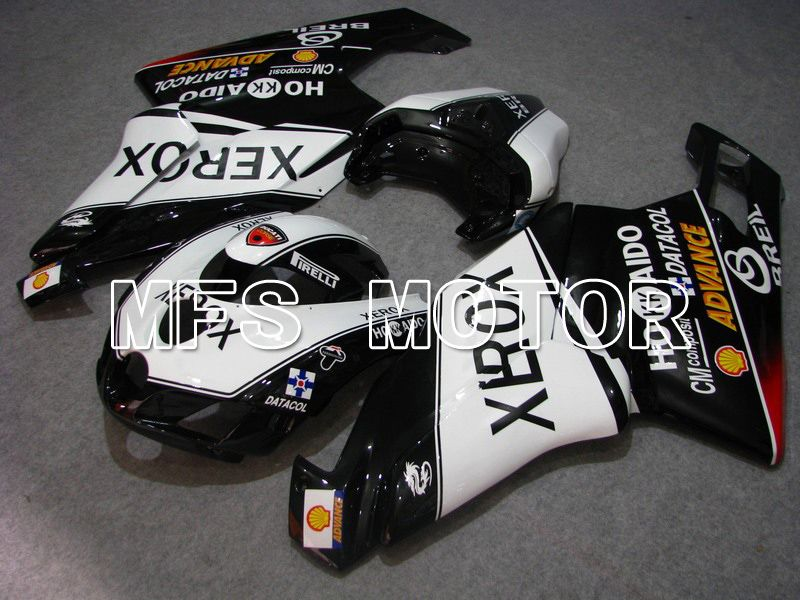 Injeksjon ABS Fairing For Ducati 749 / 999 2005-2006 - Xerox - Sort Hvit - MFS4723 - Shopping og engros