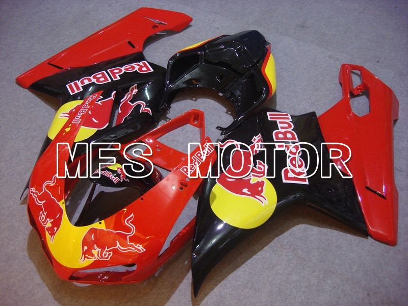 Injection ABS Fairing For Ducati 848 / 1098 / 1198 2007-2011 - Red Bull - Rød Sort - MFS4765 - Shopping og engros