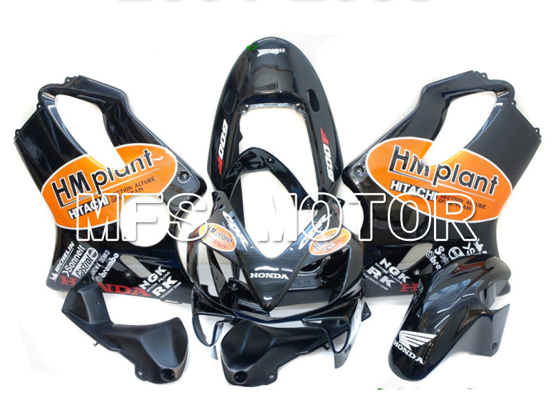 Injection ABS Fairing For Honda CBR600 F4i 2004-2007 - HM Plant - Black - MFS4788 - shopping and wholesale