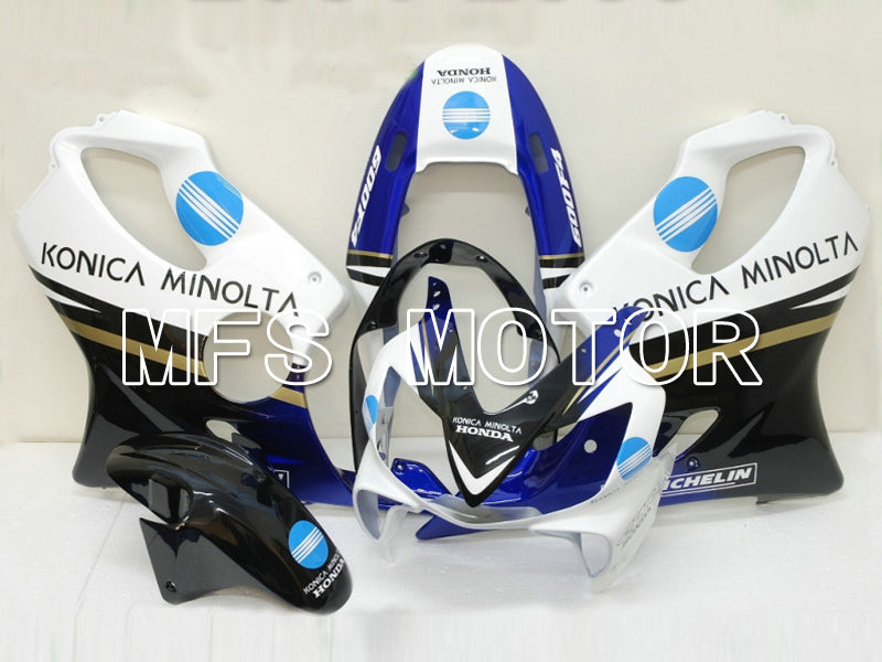 Injection ABS Fairing For Honda CBR600 F4i 2004-2007 - Konica Minolta - Svart Hvit - MFS4794 - Shopping og engros