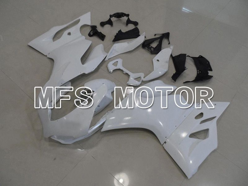 Injection ABS Fairing For Ducati 1199 2011-2014 - Factory Style - White - MFS4795 - shopping and wholesale