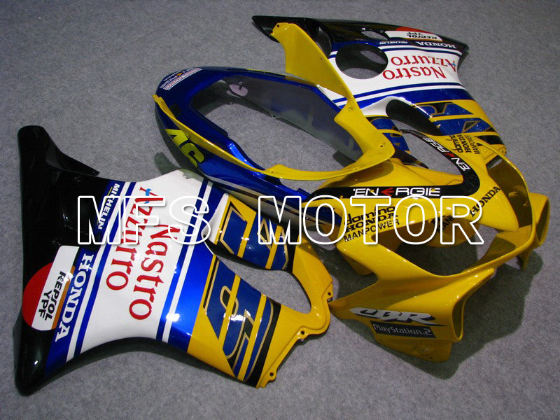 Injection ABS Fairing For Honda CBR600 F4i 2004-2007 - Nastro Azzurro - Blå Gul Hvit - MFS4796 - Shopping og engros