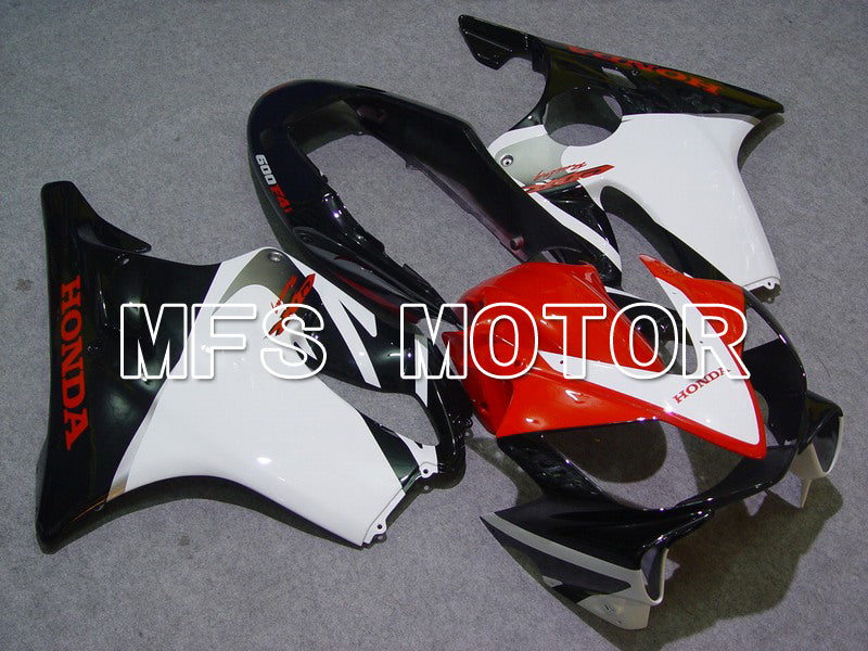 Injection ABS Fairing For Honda CBR600 F4i 2004-2007 - Factory Style - Black White - MFS4819 - shopping and wholesale