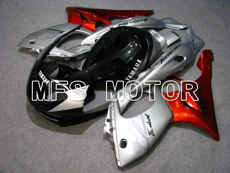 Injection ABS Fairing For Yamaha YZF-600R 1997-2007 - Factory Style - Red Wine Color Black Silver - MFS4845 - shopping and wholesale