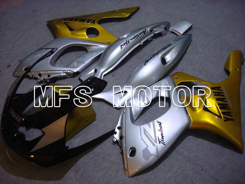 Injection ABS Fairing For Yamaha YZF-600R 1997-2007 - Factory Style - Gold Silver - MFS4848 - shopping and wholesale