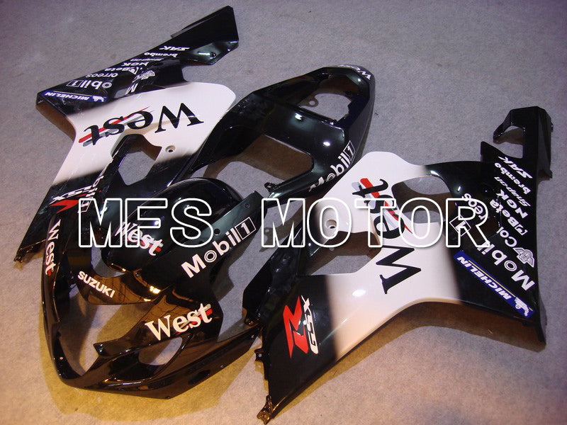 Injection ABS Fairing For Suzuki GSXR600 GSXR750 2004-2005 - Vest - Sort Hvid - MFS4853 - Shopping og engros