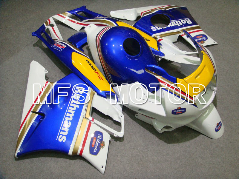 ABS Fairing For Honda CBR600 F2 1991-1994 - Rothmans - Blue White - MFS4893 - shopping and wholesale