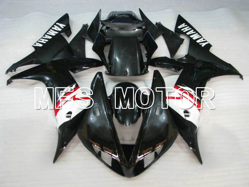 Injection ABS Fairing For Yamaha YZF-R1 2002-2003 - Factory Style - Black White - MFS4916 - shopping and wholesale