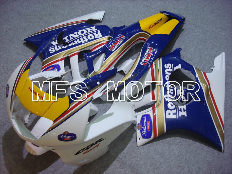 Injection ABS Fairing For Honda CBR600 F3 1997-1998 - Rothmans - Blue White - MFS5025 - shopping and wholesale