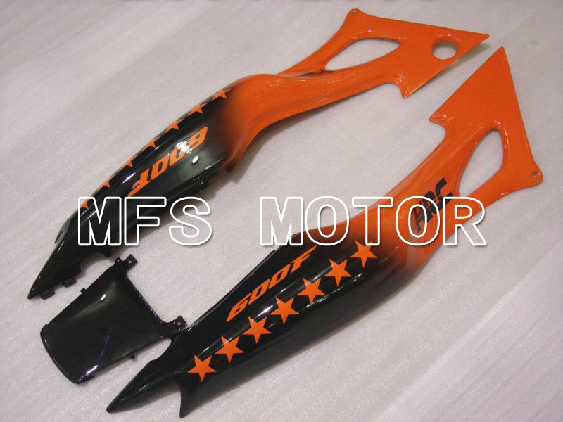 Iniezione ABS Carenatura per Honda CBR600 F3 1997-1998 - SevenStars - Black Orange - MFS5026 - shopping e ingrosso