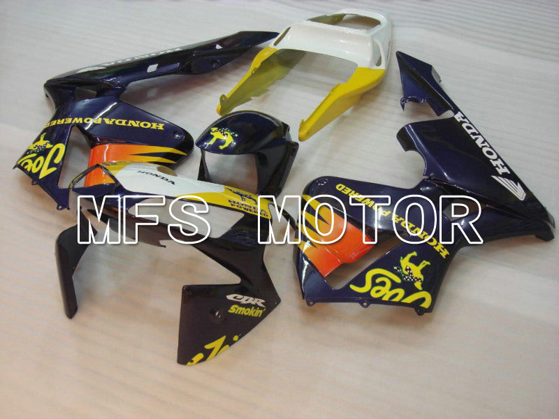 Injection ABS Fairing For Honda CBR600RR 2003-2004 - Camel - Yellow Blue - MFS5139 - shopping and wholesale