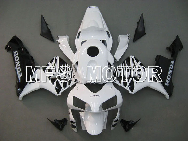 Injection ABS Fairing For Honda CBR600RR 2003-2004 - Andre - Hvit Svart - MFS5187 - Shopping og engros