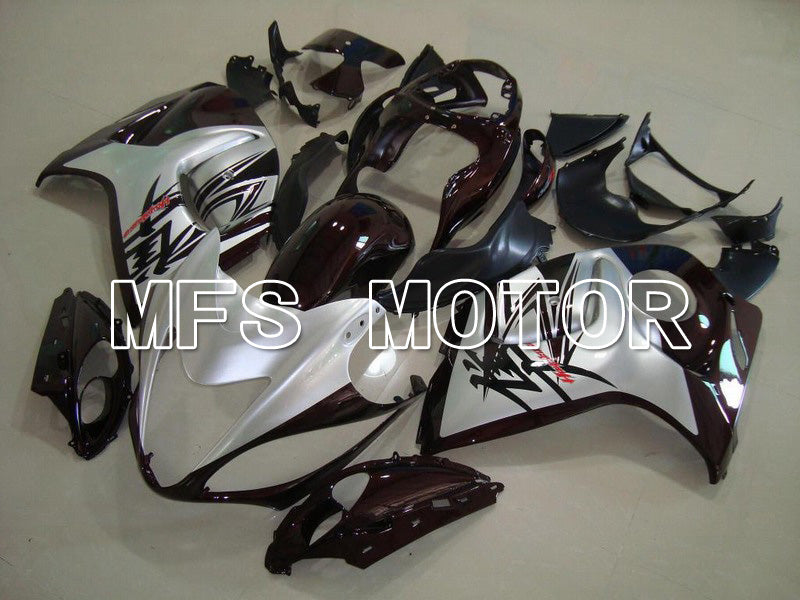 Injection ABS Fairing For Suzuki GSXR1300 Hayabusa 2008-2015 - Factory Style - Black Silver - MFS5283 - shopping and wholesale