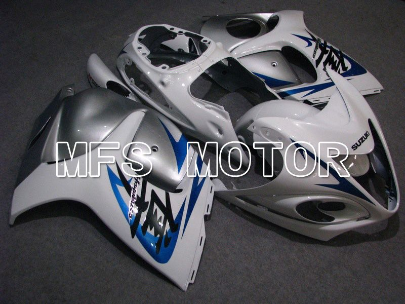 Injection ABS Fairing For Suzuki GSXR1300 Hayabusa 2008-2015 - Factory Style - White Silver - MFS5292 - shopping and wholesale