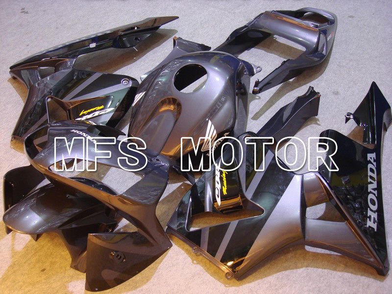 Injection ABS Fairing For Honda CBR600RR 2003-2004 - Factory Style - Black Gray - MFS5314 - shopping and wholesale