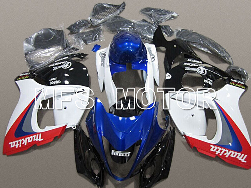 Injection ABS Fairing For Suzuki GSXR1300 Hayabusa 2008-2015 - Factory Style - Blue White - MFS5323 - shopping and wholesale