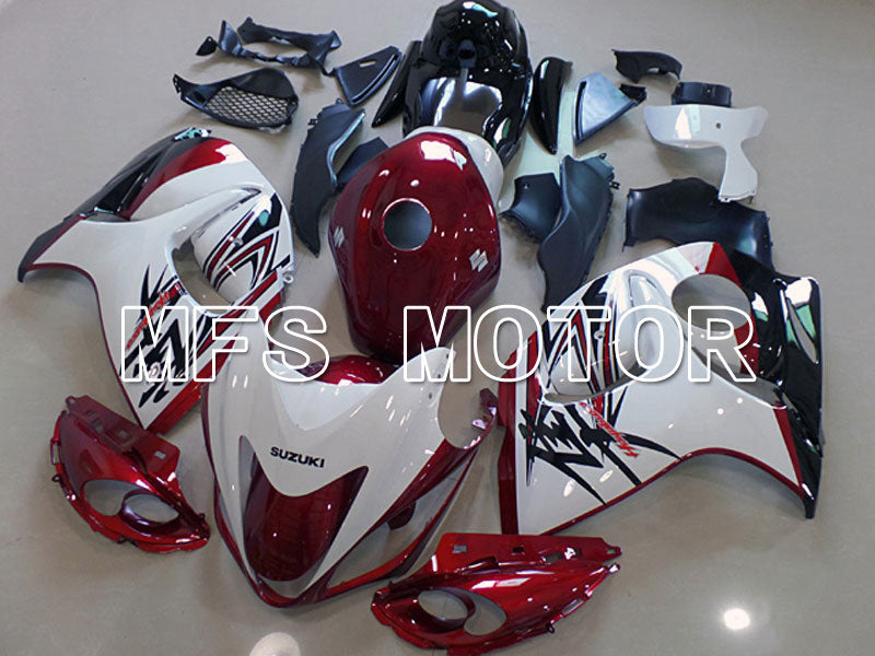 Injection ABS Fairing For Suzuki GSXR1300 Hayabusa 2008-2015 - Factory Style - Red Wine Color White - MFS5324 - shopping and wholesale