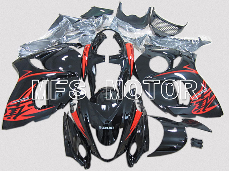 Injection ABS Fairing For Suzuki GSXR1300 Hayabusa 2008-2015 - Factory Style - Black Red - MFS5328 - shopping and wholesale