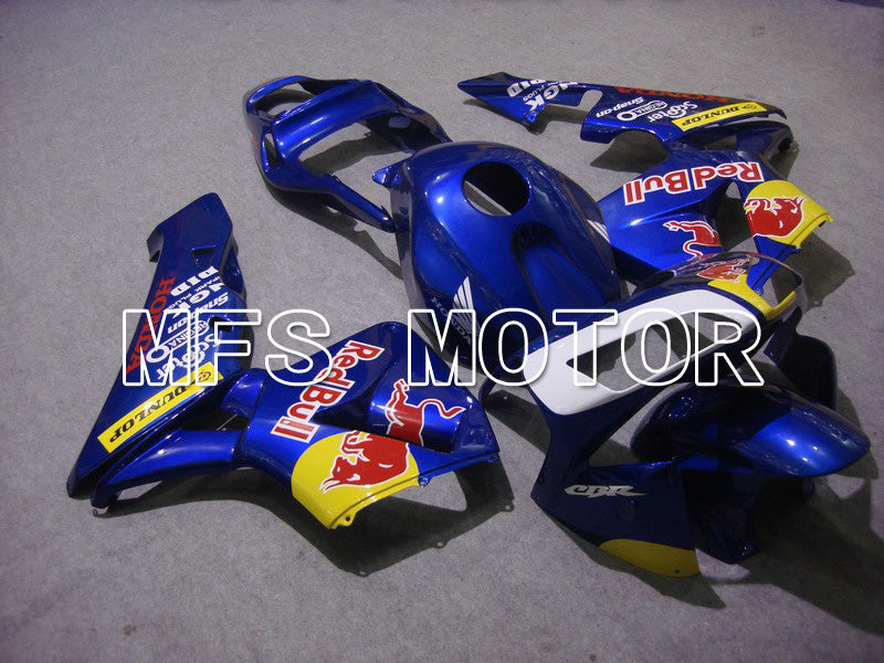 Injeksjon ABS Fairing For Honda CBR600RR 2003-2004 - Red Bull - Blå - MFS5336 - Shopping og engros