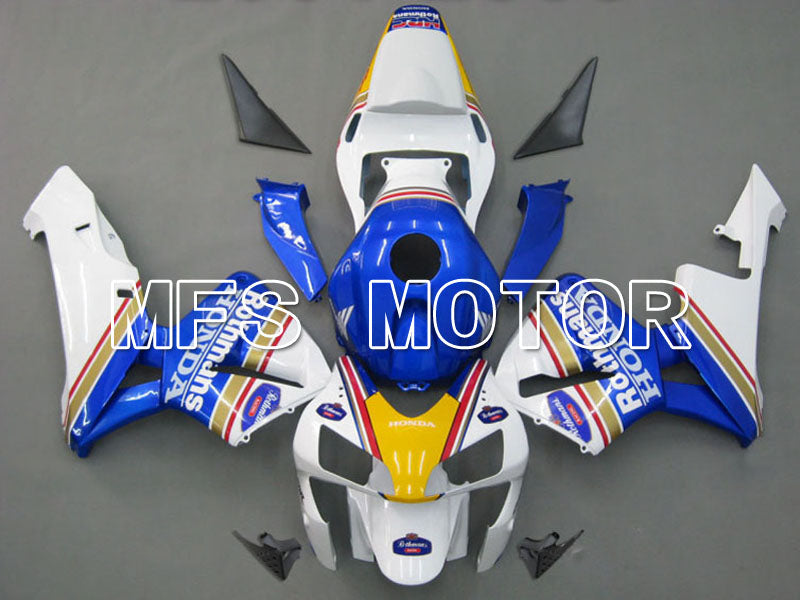 Injection ABS Fairing For Honda CBR600RR 2003-2004 - Rothmans - White Blue - MFS5358 - shopping and wholesale