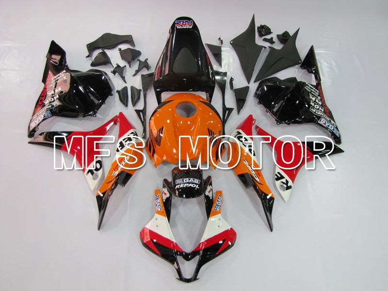 Iniezione ABS Carena per Honda CBR600RR 2009-2012 - Repsol - Orange Red Black - MFS5540 - shopping e ingrosso