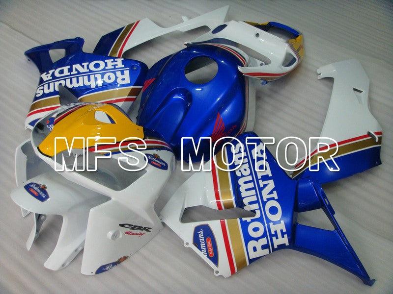 Injection ABS Fairing For Honda CBR600RR 2005-2006 - Rothmans - Blue White - MFS5567 - shopping and wholesale