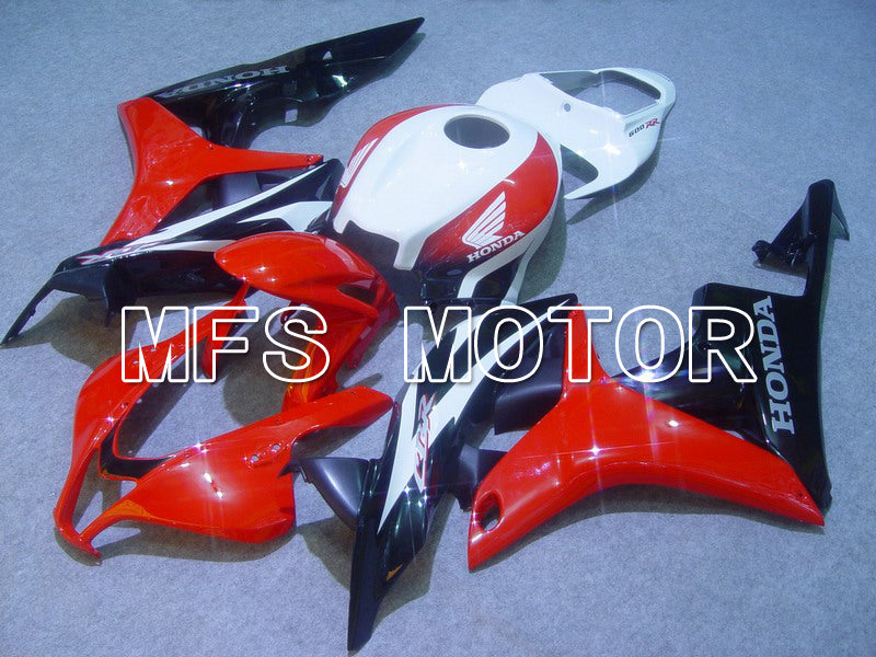 Injection ABS Fairing For Honda CBR600RR 2007-2008 - Factory Style - Black Red - MFS5701 - shopping and wholesale