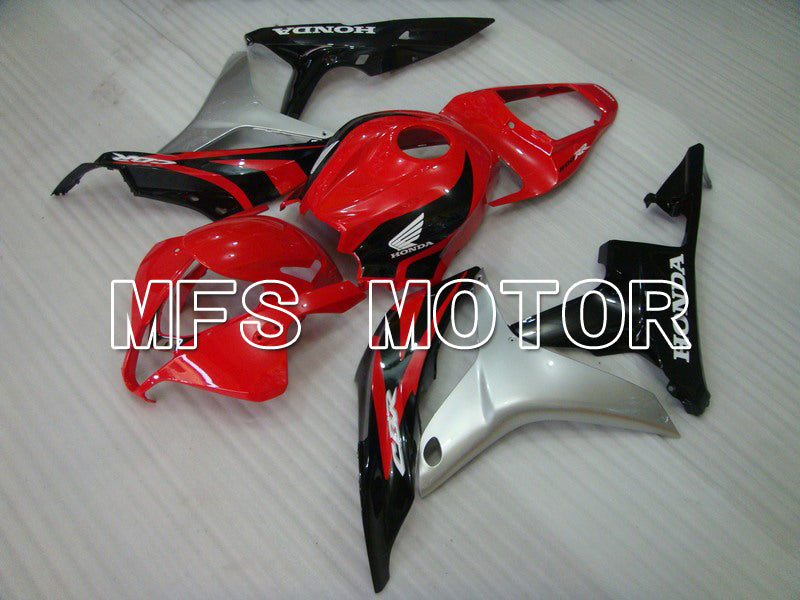 Injection ABS Fairing For Honda CBR600RR 2007-2008 - Factory Style - Black Red - MFS5703 - shopping and wholesale