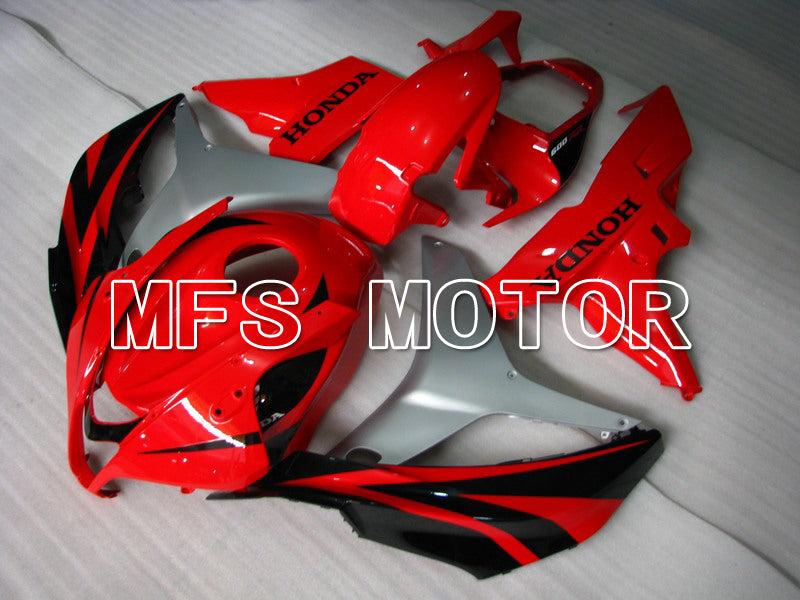 Injection ABS Fairing For Honda CBR600RR 2007-2008 - Factory Style - Black Red - MFS5704 - shopping and wholesale
