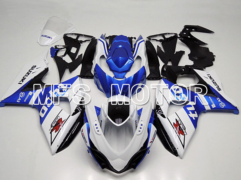 Injection ABS Fairing For Suzuki GSXR1000 2009-2016 - Factory Style - White Blue - MFS5745 - shopping and wholesale