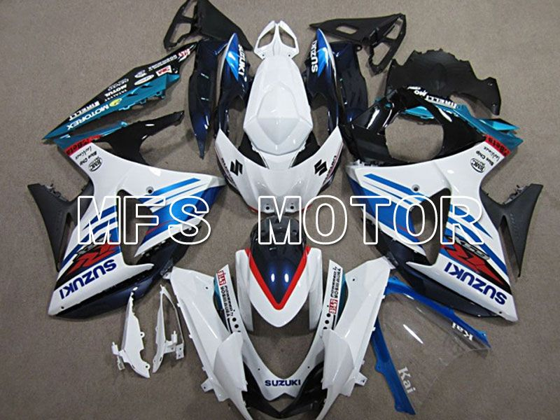 Injection ABS Fairing For Suzuki GSXR1000 2009-2016 - Others - White Blue - MFS5766 - shopping and wholesale