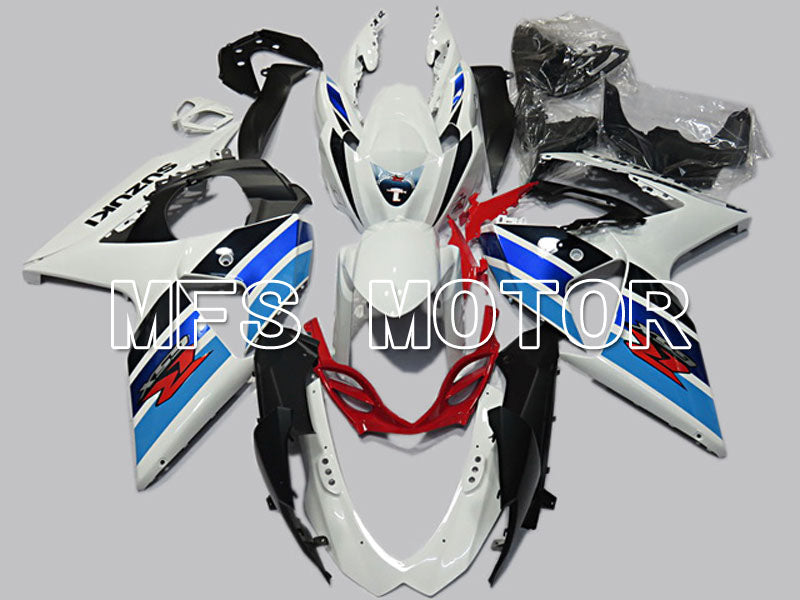 Injection ABS Fairing For Suzuki GSXR1000 2009-2016 - Factory Style - White Blue - MFS5767 - shopping and wholesale