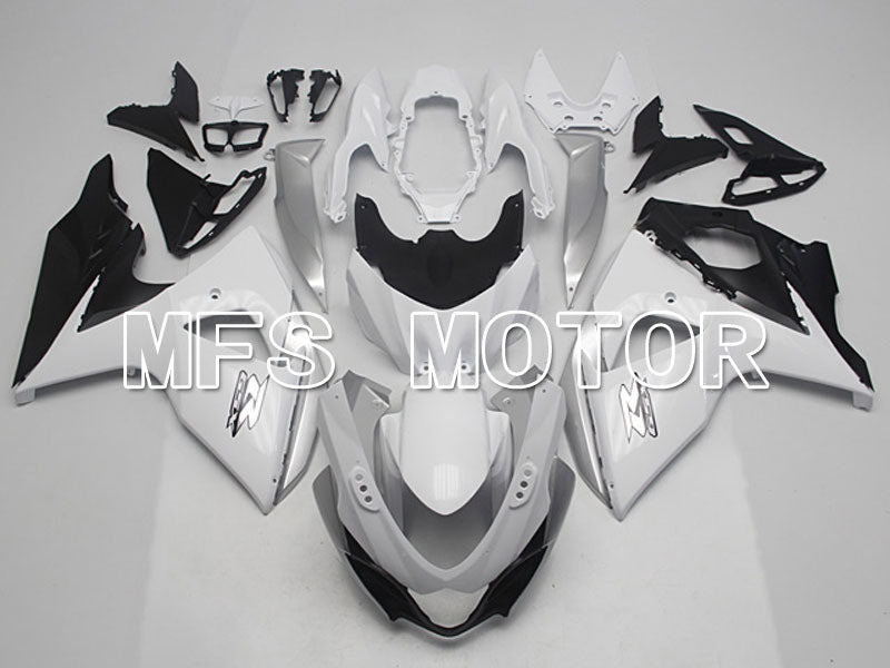 Injection ABS Fairing For Suzuki GSXR1000 2009-2016 - Factory Style - Black Matte White - MFS5773 - shopping and wholesale