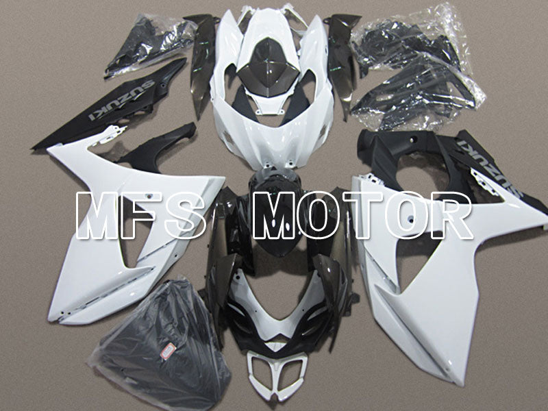 Injection ABS Fairing For Suzuki GSXR1000 2009-2016 - Factory Style - Black Matte White - MFS5774 - shopping and wholesale