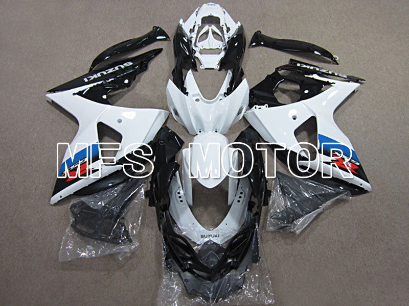Injection ABS Fairing For Suzuki GSXR1000 2009-2016 - Factory Style - Black White - MFS5778 - shopping and wholesale