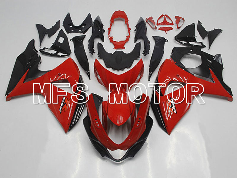 Injection ABS Fairing For Suzuki GSXR1000 2009-2016 - Factory Style - Black Red - MFS5780 - shopping and wholesale