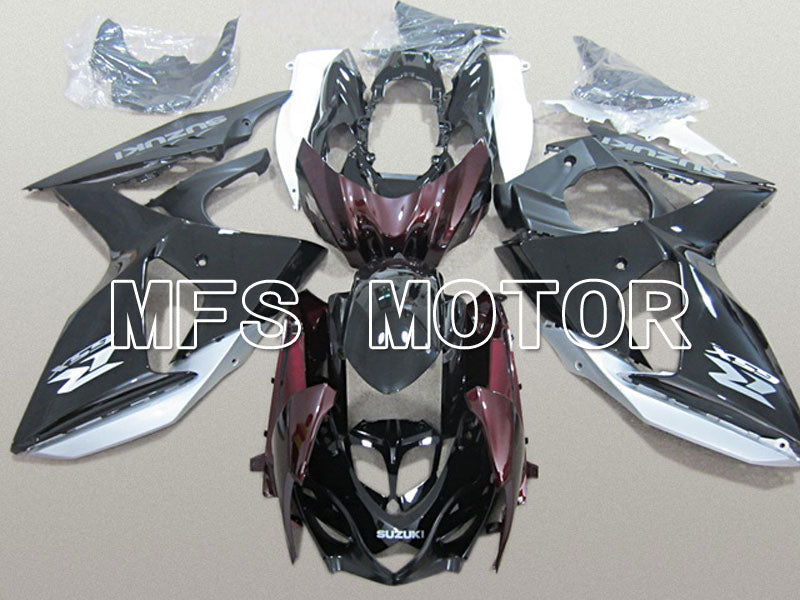 Injection ABS Fairing For Suzuki GSXR1000 2009-2016 - Factory Style - Black Matte Purple - MFS5786 - shopping and wholesale