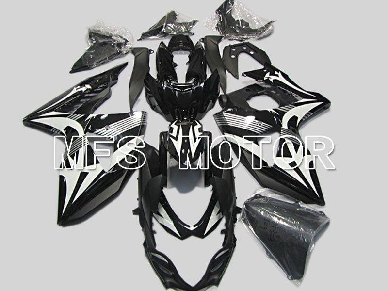 Injection ABS Fairing For Suzuki GSXR1000 2009-2016 - Andre - Hvid Sort - MFS5788 - Shopping og engros
