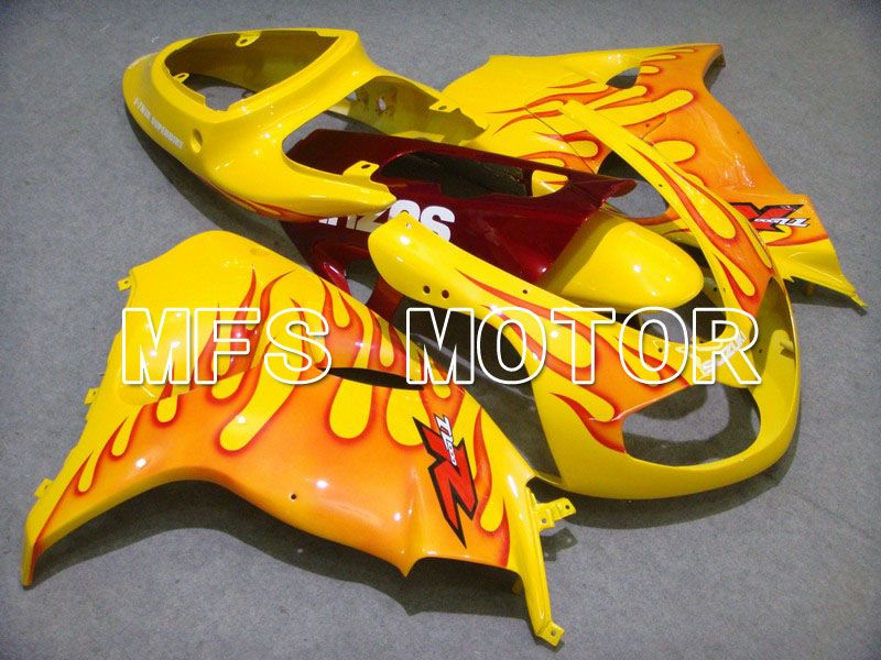 Injeksjon ABS Fairing For Suzuki TL1000R 1998-2003 - Flamme - Rød Gul - MFS5805 - Shopping og engros