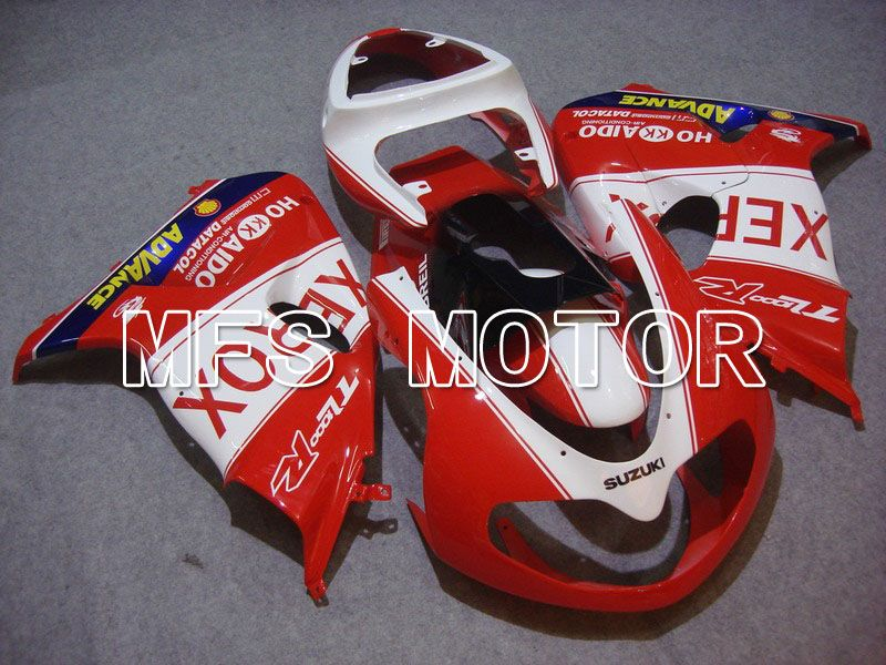 Injection ABS Fairing For Suzuki TL1000R 1998-2003 - Xerox - Rødhvide - MFS5817 - Shopping og engros