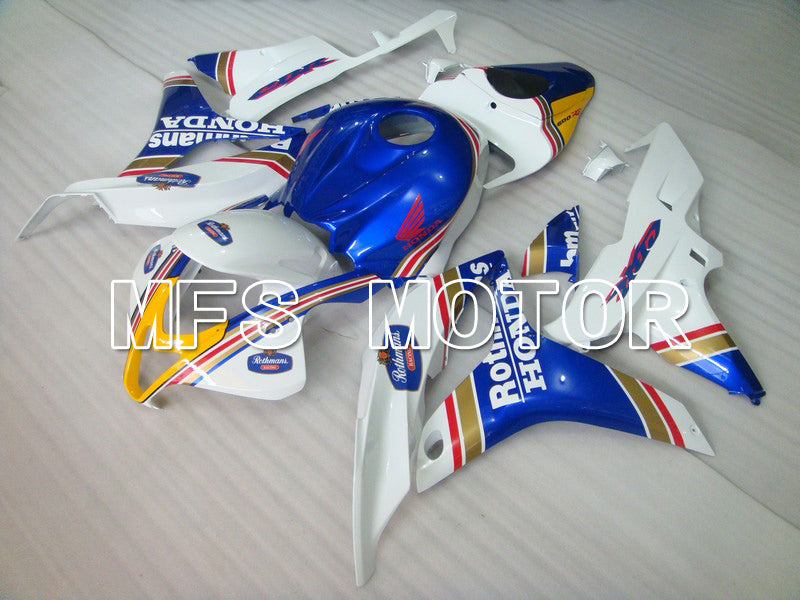 Injection ABS Fairing For Honda CBR600RR 2007-2008 - Rothmans - Blue White - MFS5818 - shopping and wholesale