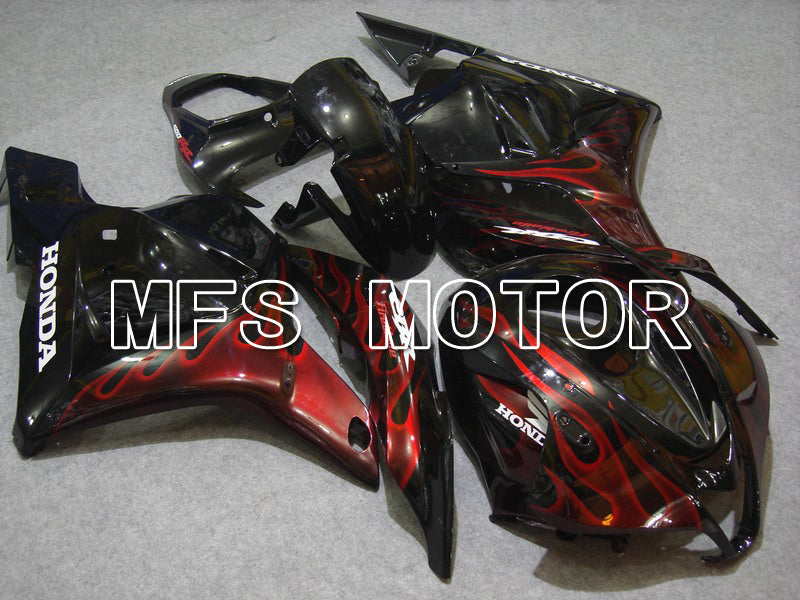 Injection ABS Fairing For Honda CBR600RR 2009-2012 - Flame - Red Black - MFS5841 - shopping and wholesale