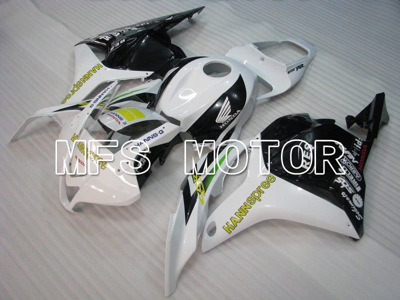 Injection ABS Fairing For Honda CBR600RR 2009-2012 - HANN Spree - White Black - MFS5845 - shopping and wholesale