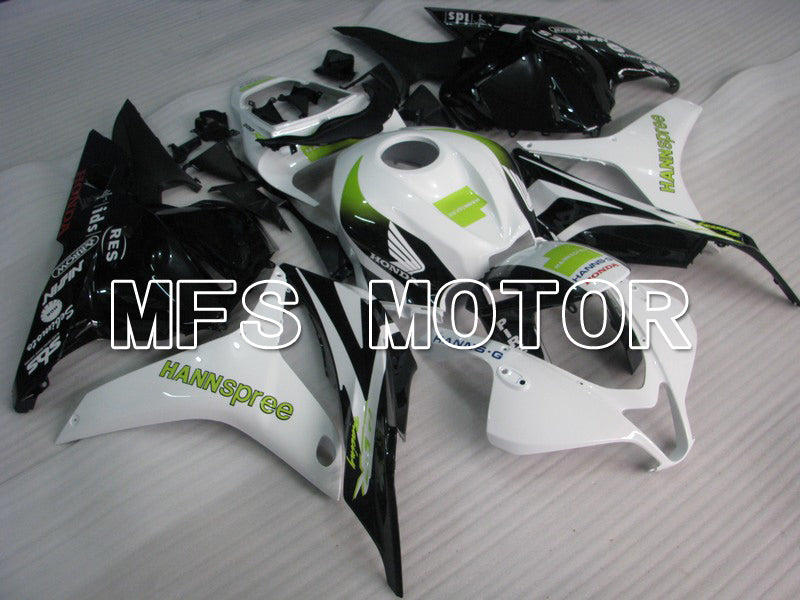Injection ABS Fairing For Honda CBR600RR 2009-2012 - HANN Spree - White Black - MFS5847 - shopping and wholesale